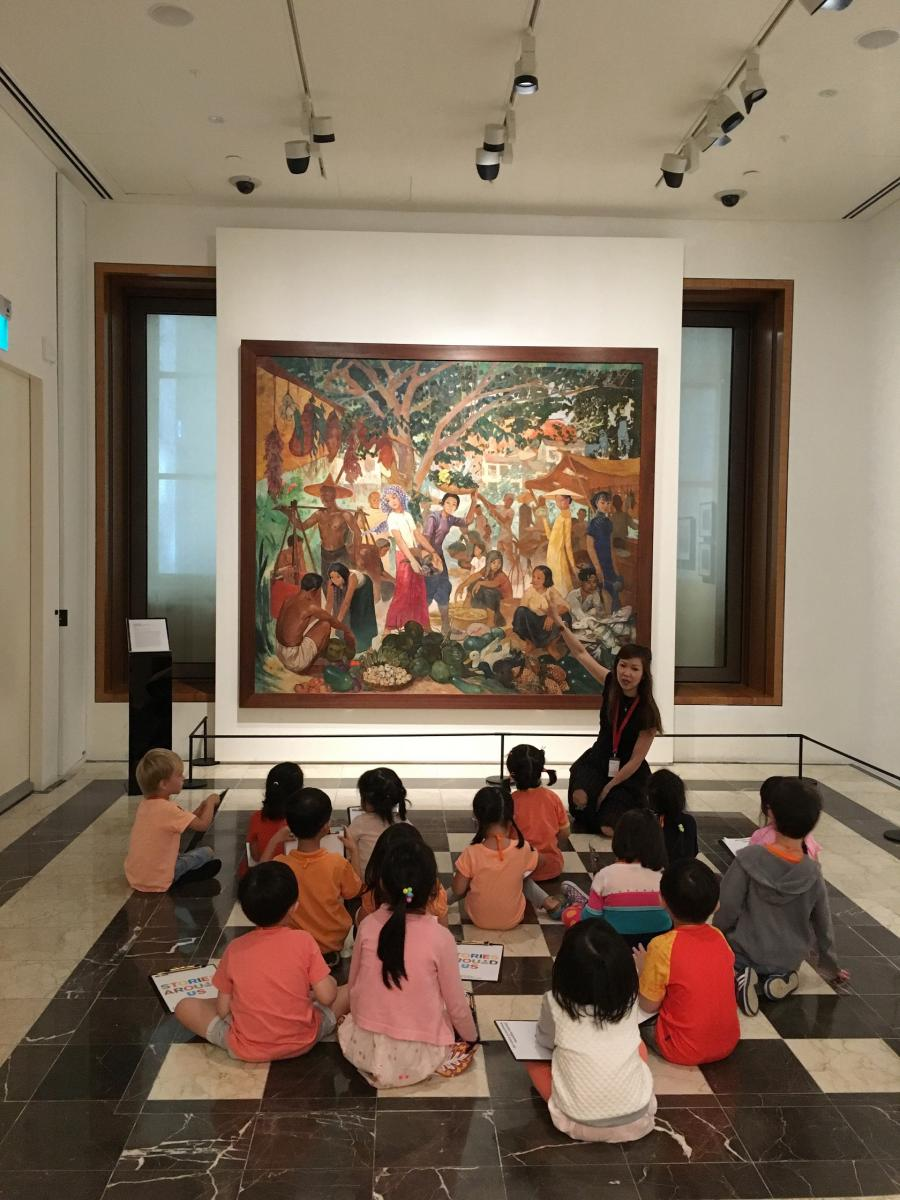 National Gallery Singapore - School Programmes - Art and Self