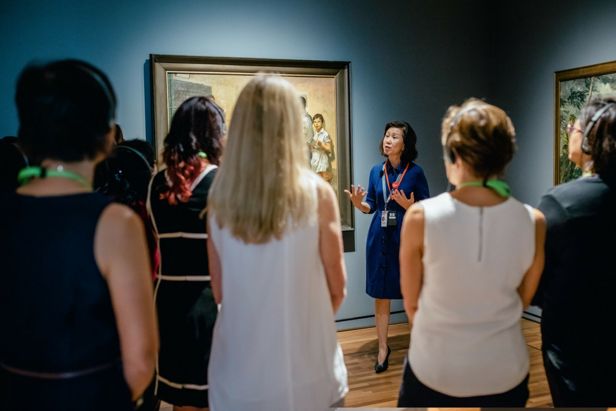 National Gallery Singapore - (Re)collect - Docent-led Tour