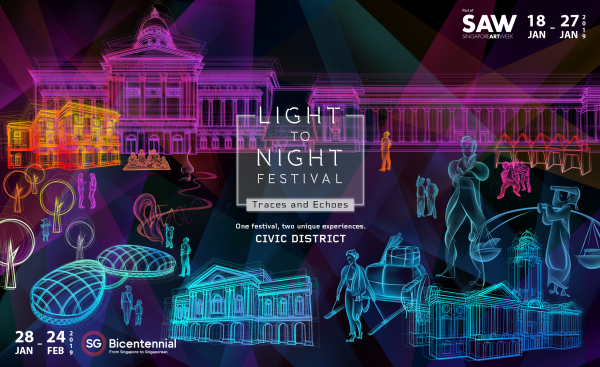 Light to Night Festival: Traces and Echoes