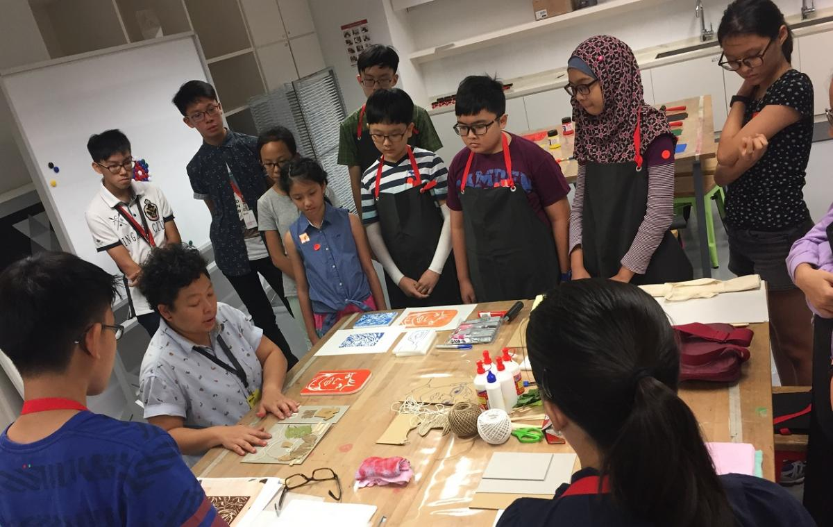 National Gallery Singapore - Tween Workshops