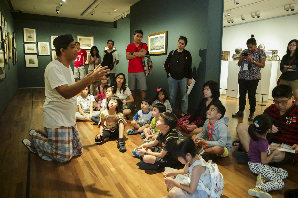 National Gallery Singapore - Kids & Families - Stories In Art